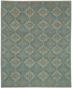 KARABAGH Aksu Blue Ivory 8226050 9.10x8.2