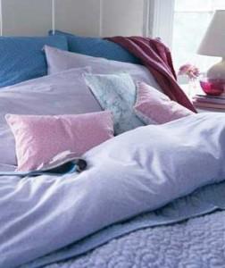 make your bedroom comfy