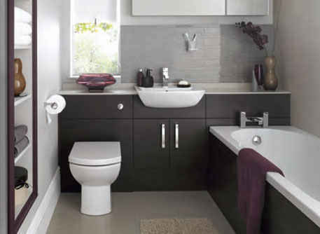 Vastu rooms placement for Small fitted bathrooms