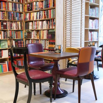 4 Book Cafes to check out