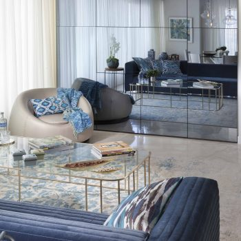 Feel The Blue Of Power Interior Designing By Annette Frommer